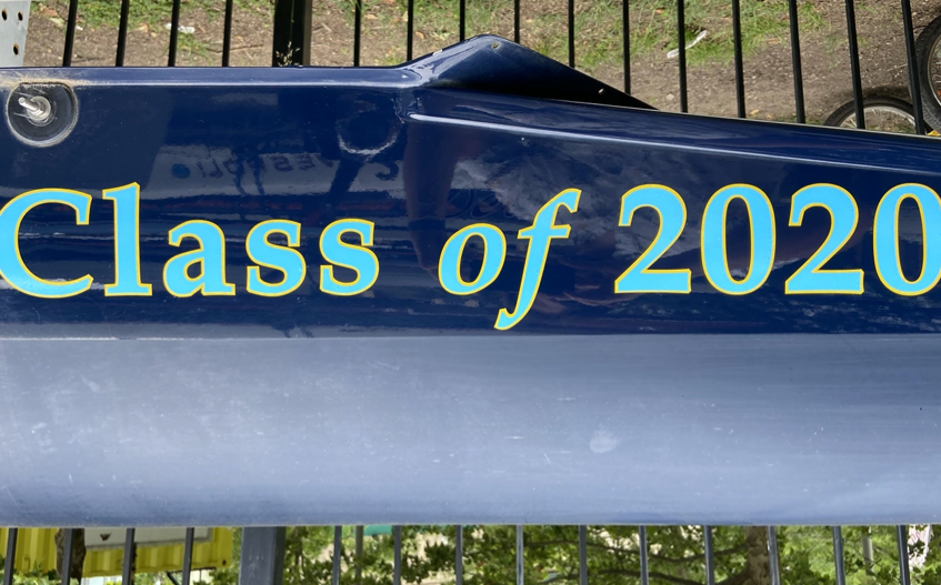 Class of 2020 Boat Photo