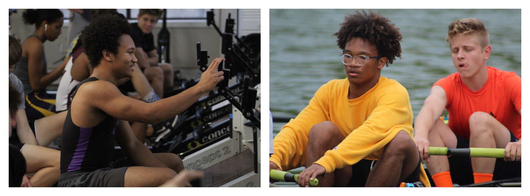 Seth Lopez Rowing and Erging